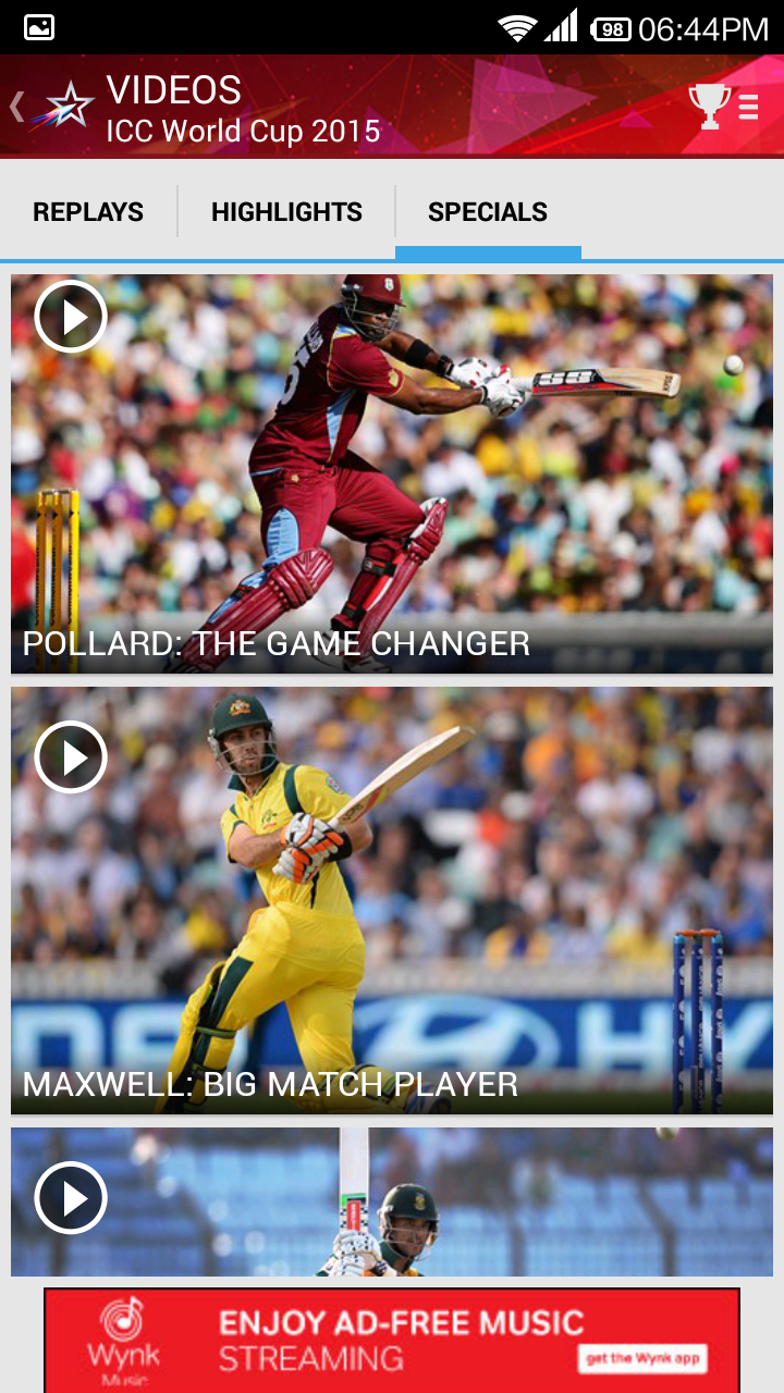 Starsports com Android App download for live cricket on Mobile