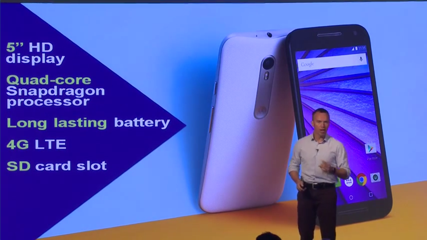 Moto G 3rd Gen goes official for Rs 11,999 and Rs 12,999