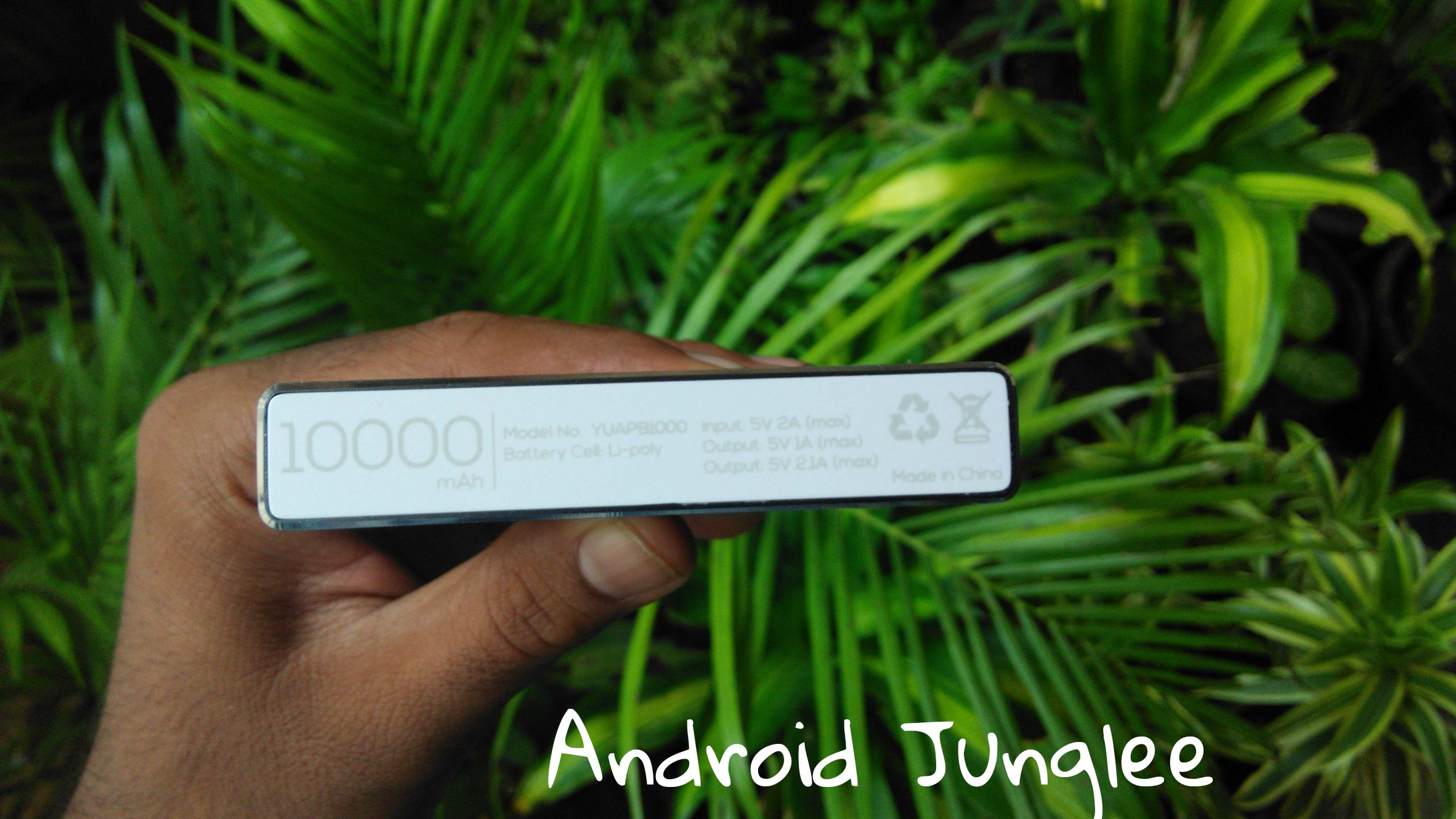 Yu jyuice 10000 mAh power bank