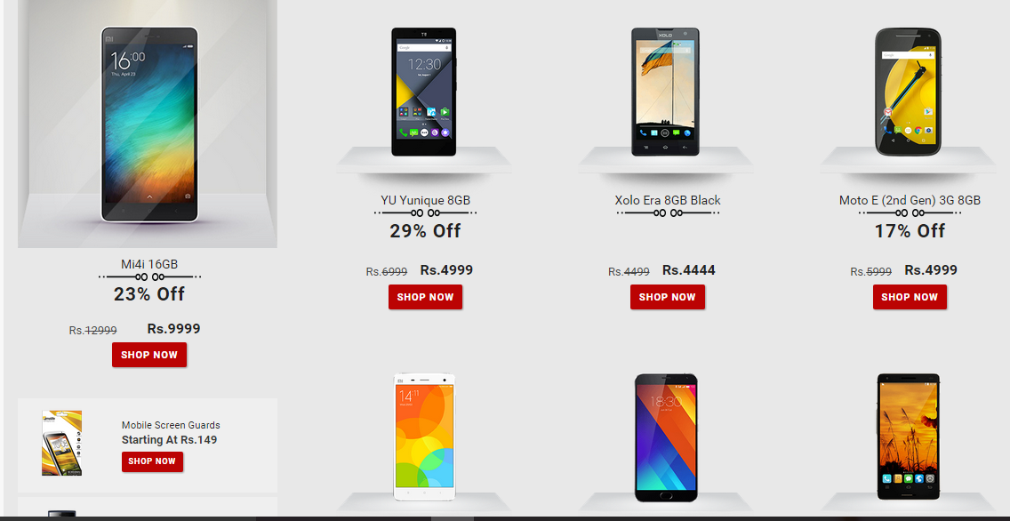 0c0e8ad4d Snapdeal Killer deals on Android Smartphones - Android Junglee