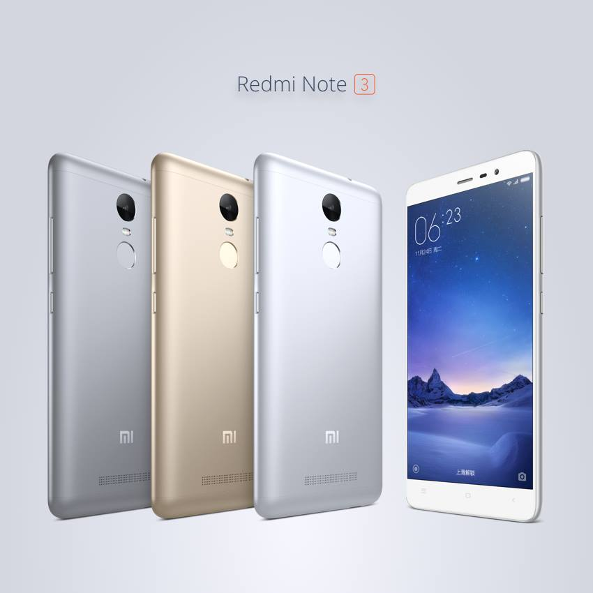 Redmi Note 3 Pro With Snapdragon 650 Announced In China