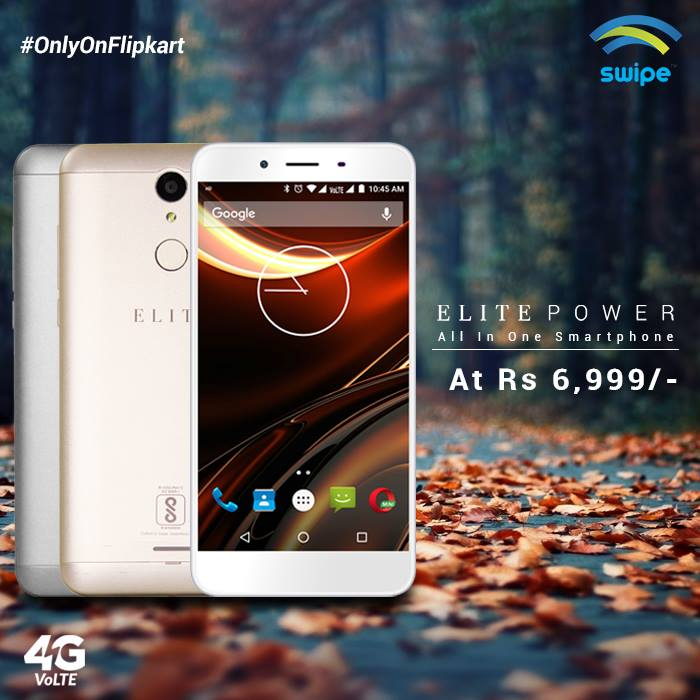 06e1dcc9861 ... quite successful with their budget smartphones. They have recently  launched Swipe Elite Power exclusively on Flipkart. Is it the best phone  under 7000  ...