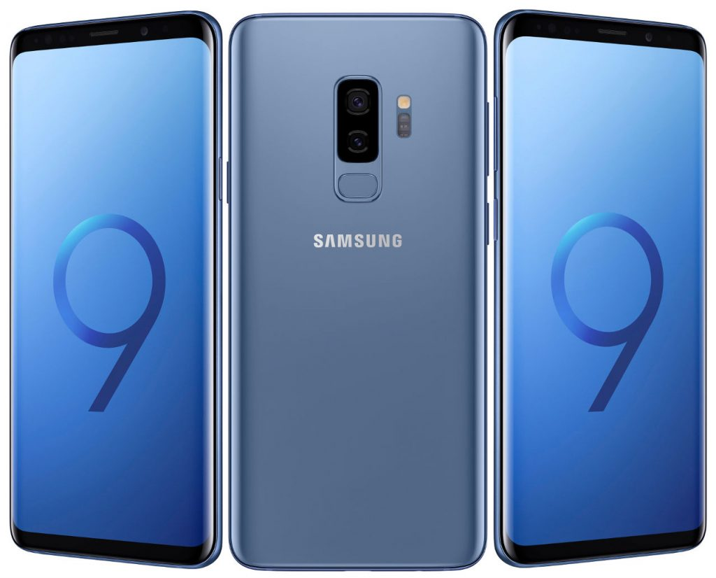 Samsung Galaxy S9 and Galaxy S9+ with Quad HD+ Infinity display and